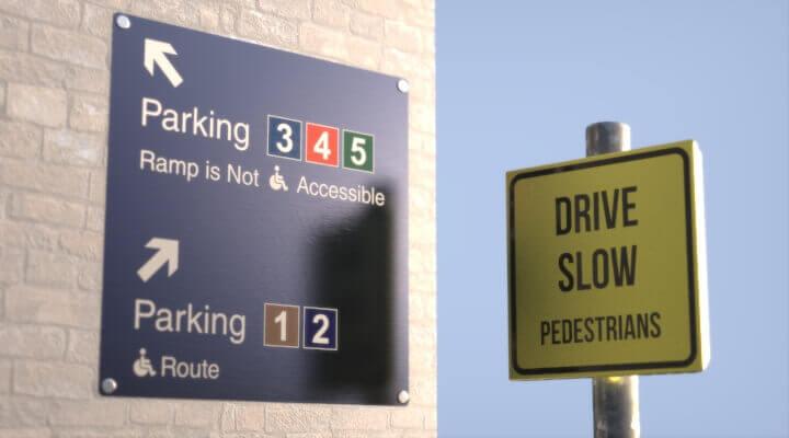 Aluminium sign | Aluminium signs