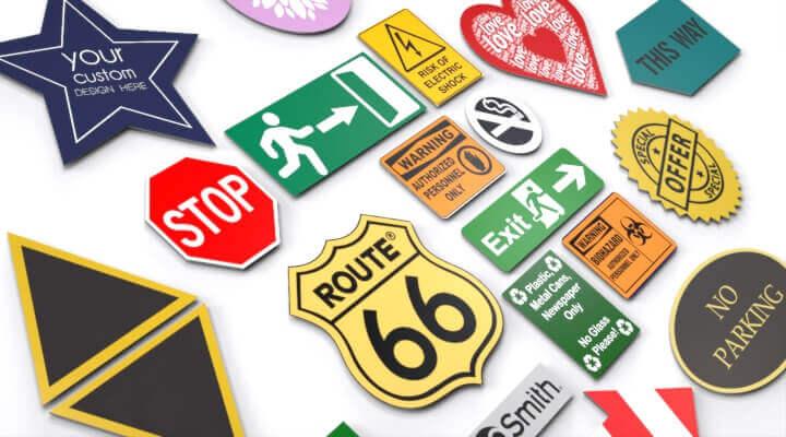 Plastic sign | Plastic signs
